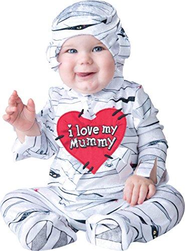 Ich liebe meine Mama Baby- Kostüm 0-6 Monate , um 18-23 Monate (Meine Mädchen Mama Kostüm)