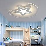 Dormitorio juvenil moderno LED luz de techo simple estudio lampara de salon techo ultrafinaDiámetro 62cm Iluminación de techo de interior
