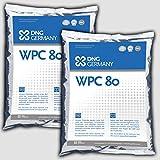 1000g WPC-80 100% Reines Whey Protein Concentrat - Molkenprotein no