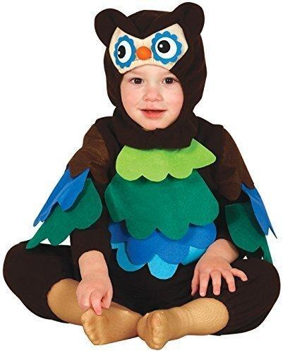 Baby Mädchen Jungen Animal Blume Monster Giraffe Affe Pinguin Blume Weihnachten Halloween Fotoshooting Kostüm Kleid Outfit - Eule, 6-12 (Eule Kostüme Baby Halloween Mädchen)
