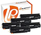 Bubprint 5 Toner kompatibel für HP CE278A 78A für Laserjet M1500 M1536DNF M1537DNF M1538DNF M1539DNF P1566 P1600 P1606DN P1607DN P1608DN MFP Schwarz