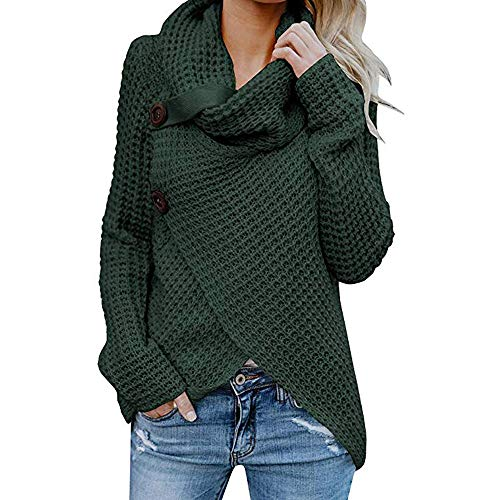 (TWIFER 2018 Herbst Damen Langarm Solid Sweatshirt Frauen Pullover Sweater)