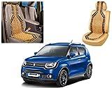 #3: Auto Pearl - Premium Quality Car Wooden Bead Seat Cover For - Maruti Suzuki Ignis - Set of 1Pcs