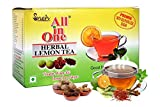 #3: All in One Herbal Lemon Tea Premix with Sulphur Less Sugar(25 Pouches)