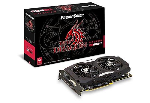 Produktbild PowerColor AXRX 480 4GBD5-3DHD Grafikkarte 4GB schwarz / grau / braun / rot