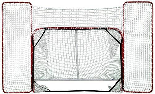 besthockey Hockey Tor 188x129cm mit Fangnetz 302x175cm, Hockeytor Target