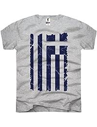 TEE-shirt-t-shirt-homme-greek flag