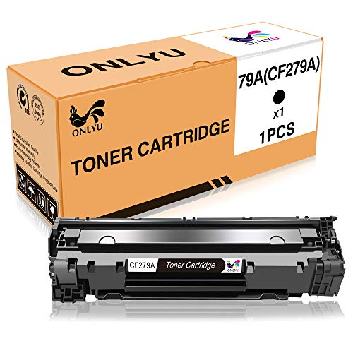 ONLYU 1-Pack Compatible HP CF279A 79A Black Toner Cartridge for HP Laserjet Pro M12 M12a M12w MFP M26A M26nw(1 Black)