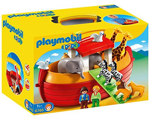 Playmobil My Take Along 1.2.3 Noah's Ark - Kids Toy Figures Kits