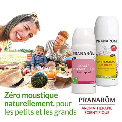 Pranarôm - Aromapic - Roller Anti-Moustique Bio Eco - Efficacité 7 Heures - 75ml