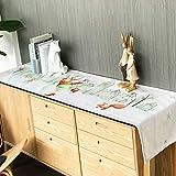 WENJUN Tischläufer Tischläufer Abstrakte Handgefertigte Künstlerische Top Decor Dining Tablerunners Tischwäsche Für Home Dekorative Couchtisch Bettläufer Sofa (Farbe : Style E, größe : 30 * 180cm)