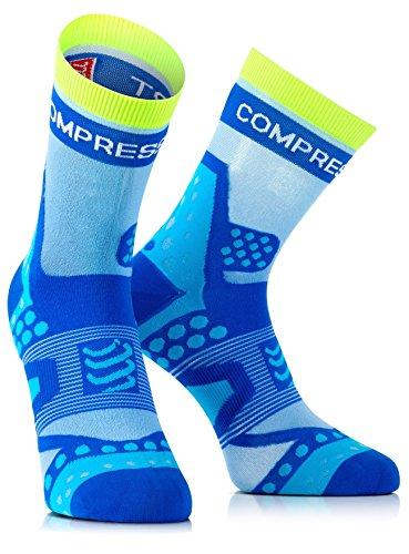 Compressport Racing Socks Ultralight HI Blau