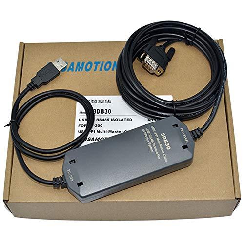 1Pack USB/PPI + 6ES7901-3DB30-0X A0PLC, No Touch Bildschirm Programmierung Kabel unterstützt mehrere Master Station 187.5KB mit Fotoelektrischer Isolation Master-station