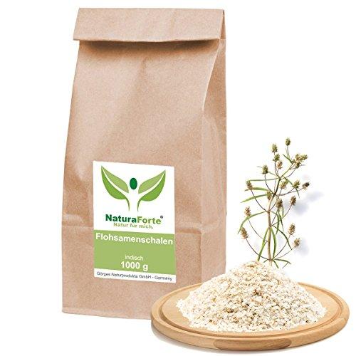 NaturaForte naturreine Flohsamenschalen 1 kg (1000g)