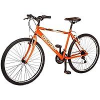 """Discovery DP069 - Bicicleta Montaña Mountainbike B.T.T. 26"""". Cambio fricción 18 Velocidades. para Hombre, Color Naranja"""