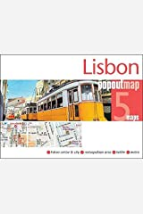 Lisbon PopOut Map (PopOut Maps) Map