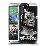 Head Case Designs Offizielle Star Trek Elim Garak Ikonische Aliens DS9 Soft Gel Hülle für HTC One M8 / M8 Dual SIM