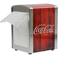 Retro American Diner Coca Cola mesa servilletero dispensador de almacenamiento contenedor