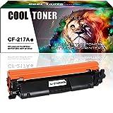 Cool Toner Kompatibel für HP CF217A 17A Toner (MIT CHIP) für HP Laserjet Pro MFP M130FW M 130 HP Laserjet Pro MFP M130NW M130 HP Laserjet pro M102W M102 Toner MFP M130FN Laserdrucker Patronen Schwarz