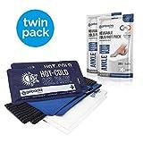 GelpacksDirect Poche gel cheville - chaud/froid - Twinpack