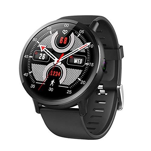 KTCLE Smartwatch Fitness Tracker Armband Uhr Schrittzähler Uhren Smart Watch 4G Smart Watch Android-Uhr, HD Big Screen 8 Millionen Pixel wasserdichte GPS-Ortung (Wissenschaftliche übersetzung)