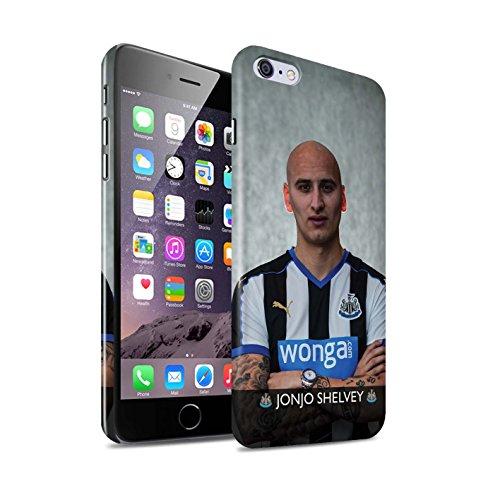Officiel Newcastle United FC Coque / Clipser Brillant Etui pour Apple iPhone 6+/Plus 5.5 / Pack 25pcs Design / NUFC Joueur Football 15/16 Collection Shelvey