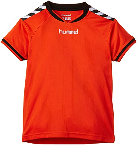 Hummel Kinder Trikot Stay Authentic Jersey,  03-554-3487, Fire Red,10-12 EU
