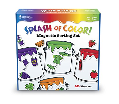 Learning Resources Farbeimer  Magnetisches Sortierset, - Pre K-spiele