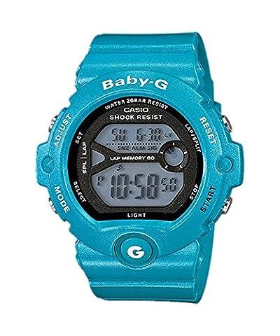 Casio Baby-G – Damen-Armbanduhr mit Digital-Display und Resin-Armband –