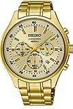 Seiko Herren Chronograph Quarz Uhr mit Edelstahl Armband SKS592P1