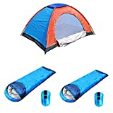 Shopper52 Camping Tent Portable Foldable Tent for Picnic/Hiking/Trekking Tent Dome Tent 4 Person