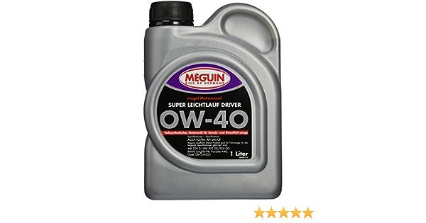 Meguin 4894 Megol Super Ll Driver Motoröle Sae 0 W 40 1 L Auto