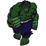 """HULK The El Avenger's Avenger de Full completo Body Cuerpo PATCH, PARCHE Officially Licensed Marvel's The El Avengers Avenger De Comic Superhero Artwork ilustraciones Iron-On / Sew-On, 3.5"""" x 2.5"""" Embroidered bordado PATCH PARCHE"""