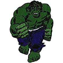 "HULK The El Avenger's Avenger de Full completo Body Cuerpo PATCH, PARCHE Officially Licensed Marvel's The El Avengers Avenger De Comic Superhero Artwork ilustraciones Iron-On / Sew-On, 3.5"" x 2.5"" Embroidered bordado PATCH PARCHE"