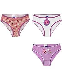 Paquet De 3 Filles Peppa Pig Disney Se Glisse Pantalon Sous-vêtement