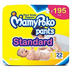 Mamy Poko Pants Standard Style Small Diapers (22 Count)