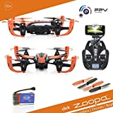 ACME - zoopa Q 155 roonin FPV Quadro | Live Camera (480p)| 2.4GHz Remote | Light | 360° Flipfunction | 3 Speed Modes (ZQ0156)