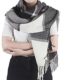 Leira - großes Schultertuch Schal / Tuch mit trendigem Farb-/Mustermix