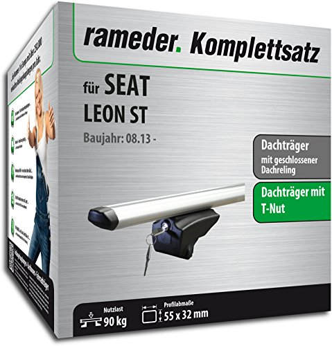 Rameder Komplettsatz, Dachträger Pick-Up für SEAT Leon ST (111286-11484-12)