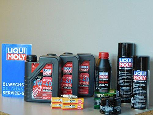 Kit di manutenzione GILERA GP 800Olio Filtro olio candela Service ispezione oelwechs