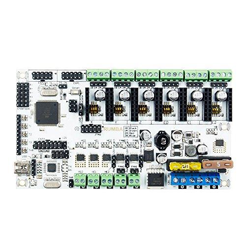 MYAMIA Rumba Plus 12V Verbesserte Integrierte Motherboard-Steuerplatine Unterstützung 3 Druckköpfe Für 3D-Drucker Mainboard