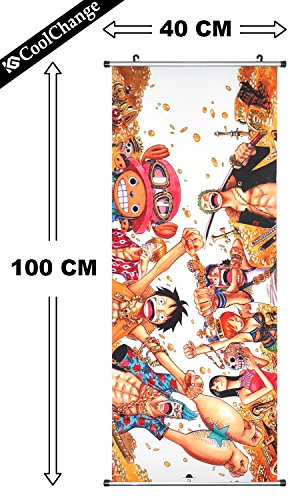 CoolChange Kakemono / Poster de la série One Piece, motif: L'Equipage du Chapeau de Paille, image 2