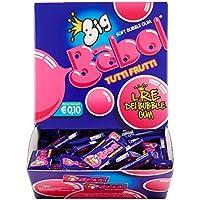Big Babol Tutti i Frutti Gomma da Masticare Morbida, Gusto Tutti Frutti, Confezione da 200 Gomme da Masticare Monopezzo