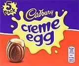 Cadbury Creme Egg 5-Pack 197 g (Pack of 4, total 20 eggs)