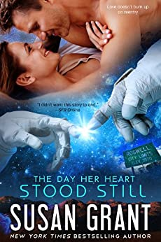 The Day Her Heart Stood Still: an alien first-contact novella by [Grant, Susan]