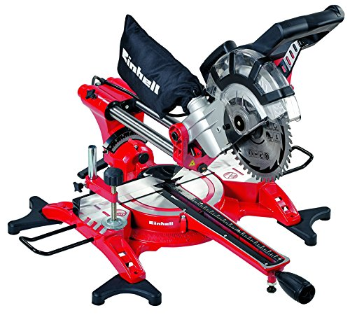 Einhell TH-SM 2131 240 V Double Bevel Crosscut Mitre Saw with Laser - Red Best Price and Cheapest
