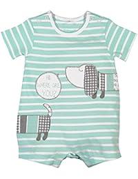 boboli Knit Play Suit Striped For Baby Boy, Body para Bebés