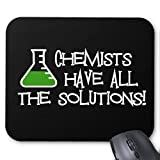 Chemists have all the Solutions mouse pad mouse Mat retro pattern Unique computer mouse pad