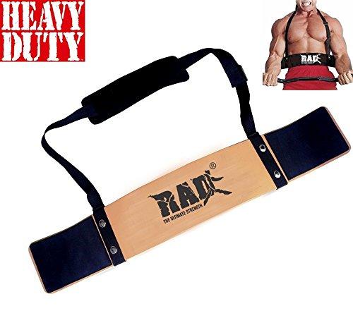 Rad Bizeps-Isolator-Gurt, Bizeps-Blaster, für Langhantelstange, Gewichtheben, Armtraining gold