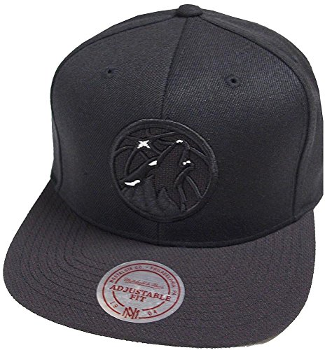 Mitchell & Ness Minnesota Timberwolves Full Dollar INTL138 Snapback Cap Black Kappe Basecap (Minnesota Timberwolves Hat)